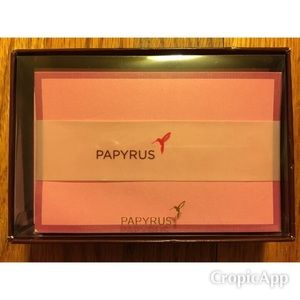 Papyrus 16 Note Cards & 16 Envelopes.